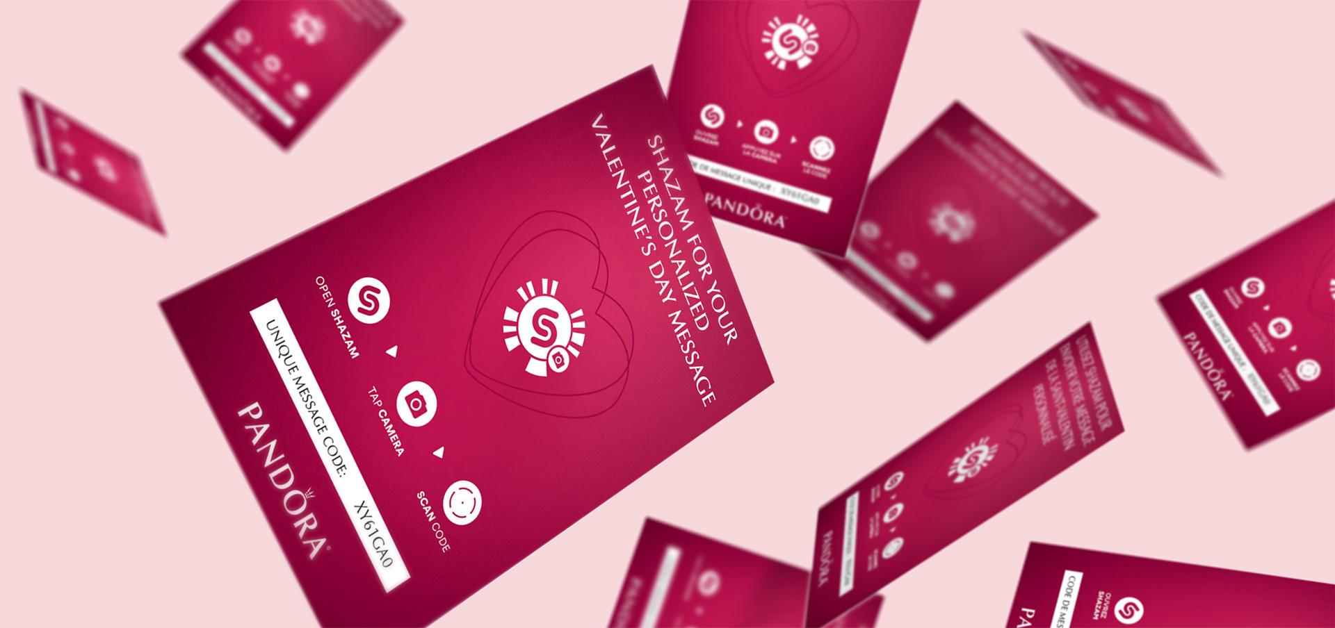 Pandora promo cards