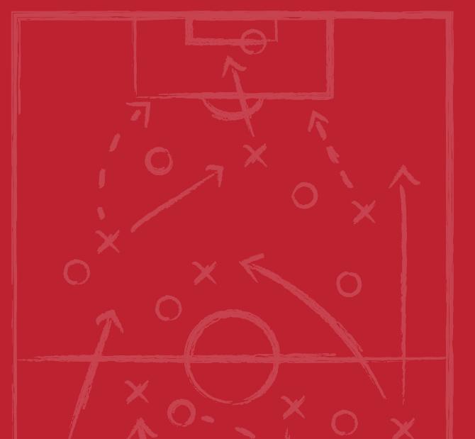 Sports strategy chalk