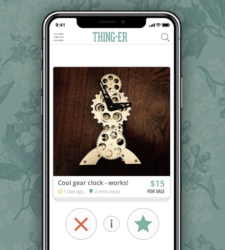 THING-ER app design