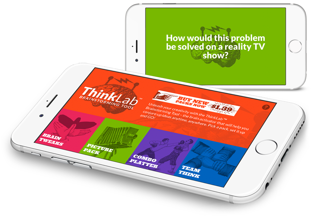 ThinkLab app design