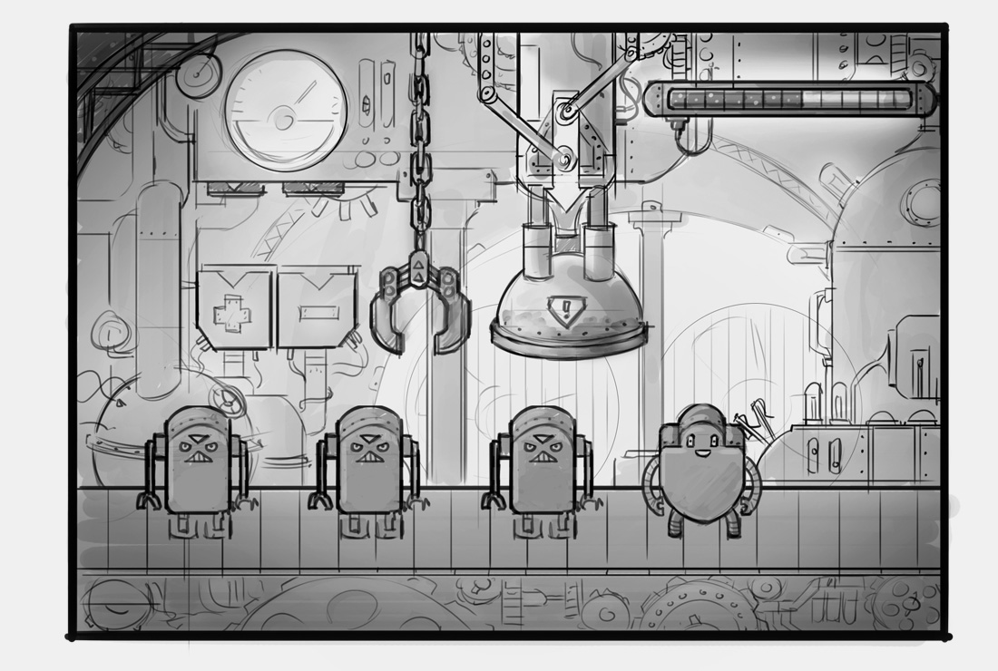 Habit Maker game sketch