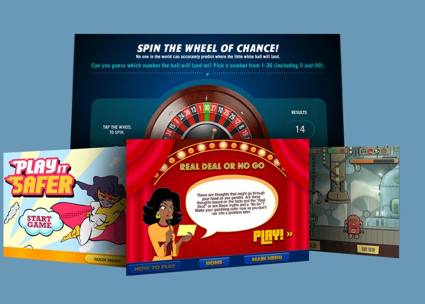 PlaySmart game designs