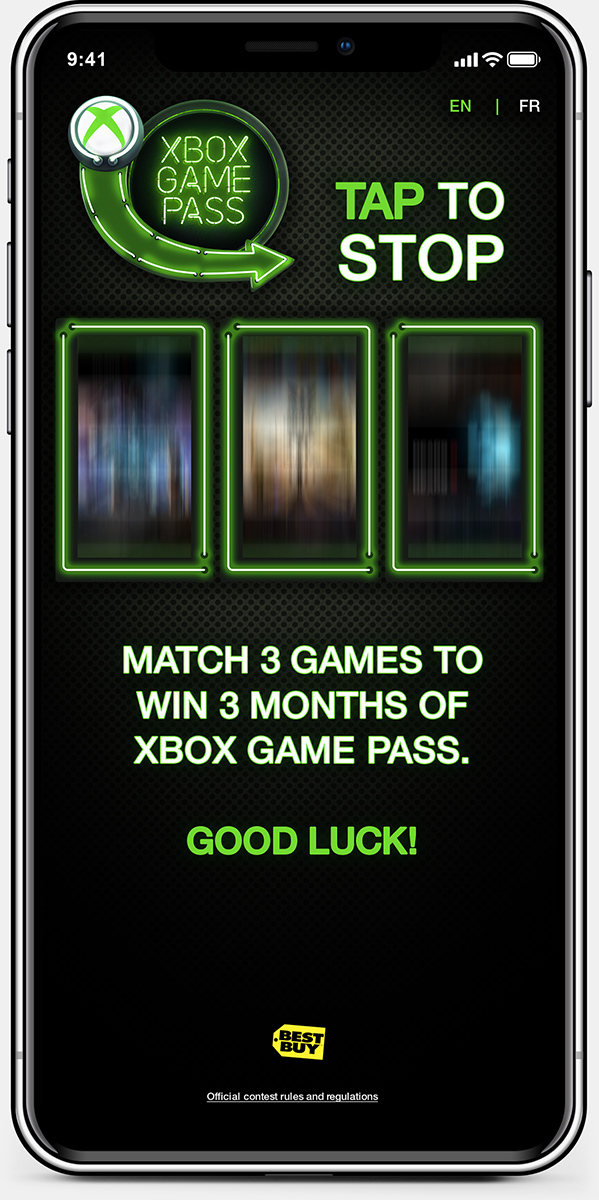 Xbox GamePass device 1
