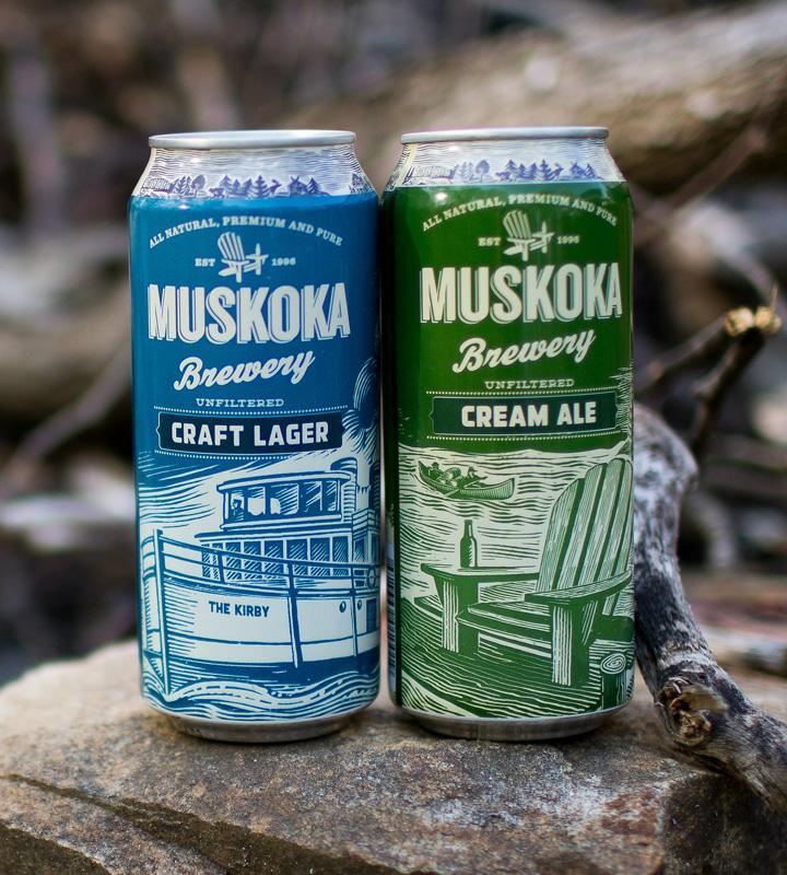 Muskoka Brewery Shopify store